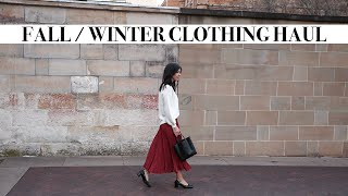 FALL / WINTER CLOTHING HAUL: What I Added to my Wardrobe for Winter (Minimal Style) | Mademoiselle