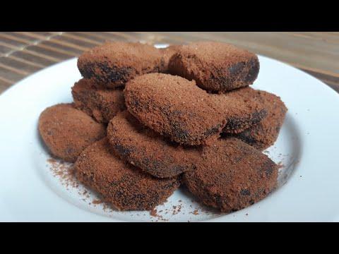 Nugget Milo Homemade Nyoklat Banget | Resep Nugget Milo Homemade ala Mama Adeeva