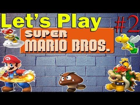 Let\'s Play Super Mario Bros Episódio 2 - Agua nem tão ruim