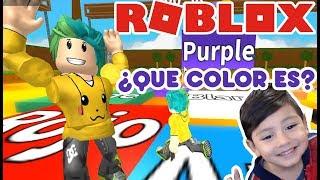 Juego de Colores | Mini Juegos Epicos en Roblox | Juegos para niños