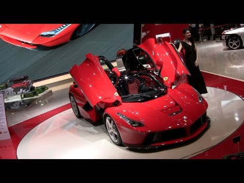 Supercars, Motorhomes & Outtakes from the 2013 Shanghai Auto Show