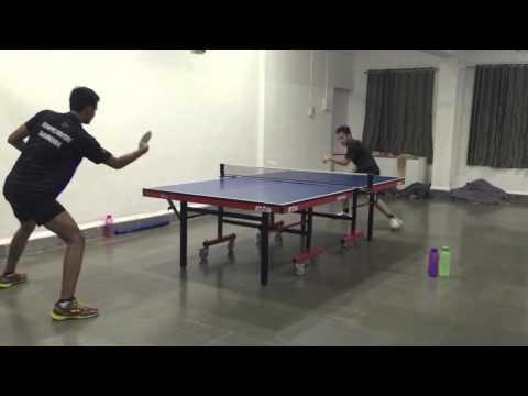 Table Tennis Practice - India