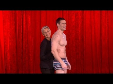 Ellen's Live Underwear Commercial