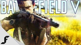 Battlefield V Gameplay Progression + Tides of War