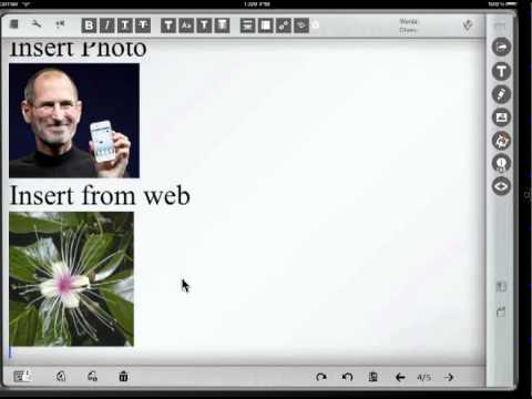 Edit Google Docs and MS Office Word with Blog Docs iPad app  Overview for