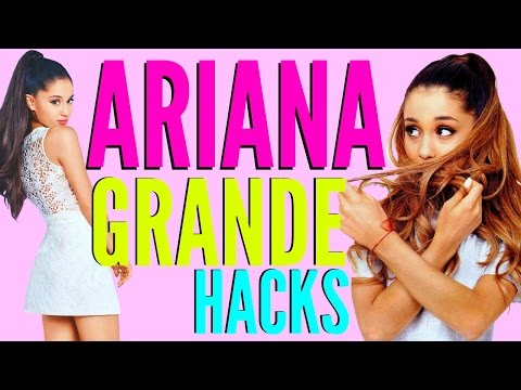 ARIANA GRANDE Beauty Hacks EVERY Girl Should Know !!!