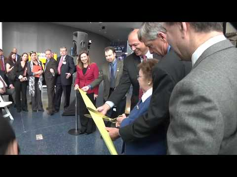 Senator Barbara Mikulski Opens Webb Telescope Exhibit