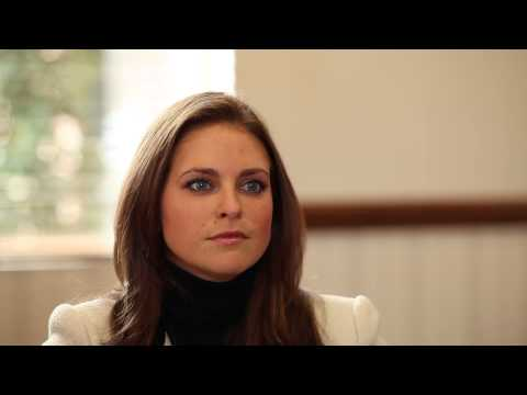 Princess Madeleine of Sweden talks about her work as Project Manager at Childhood