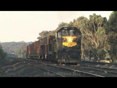 G8's blasting upgrade : Blast from the past : Australian trains and railroads