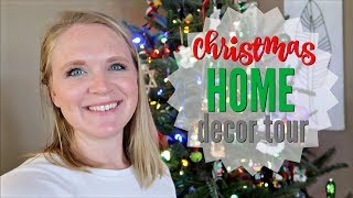 CHRISTMAS HOME DECOR TOUR 2018