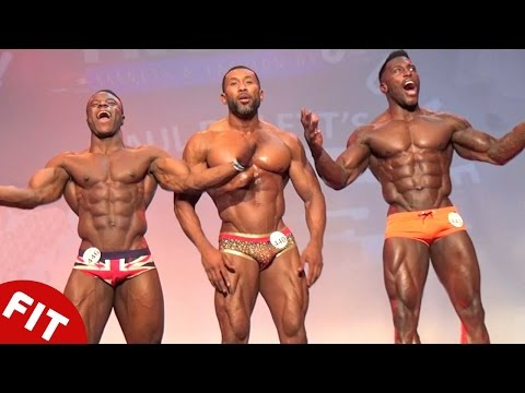 MUSCLE PRO SHOWDOWN IN LONDON