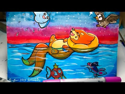 Awesome Buizel fan art