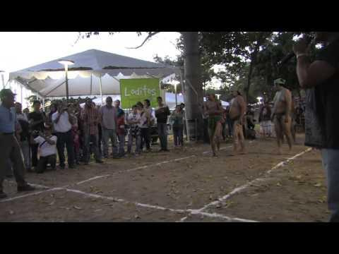 Juego de Ulama, demostración de la Familia Ohuayra de Escuinapa. (29 Noviembre 2014)