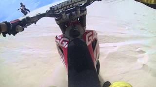 GasGas 300 2T in Vietnam,Muine. White dunes bail out@300fps