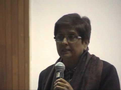 Dr.Kiran Bedi at IITK-Inaugural talk of Vivekananda Youth Leadership Convention 2013