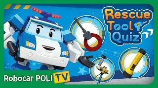 Rescue Tool Quiz | #01 | Robocar POLI