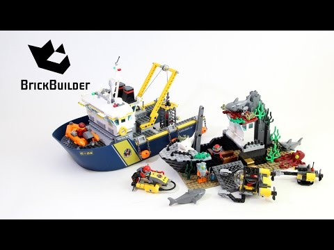 Lego City 60095 Deep Sea Exploration Vessel - Lego Speed Build