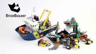 Lego City 60095 Deep Sea Exploration Vessel - Lego Speed Build