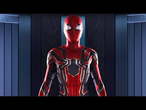 Iron Spider Suit Scene - Spider-Man: Homecoming (2017) Movie Clip HD thumbnail