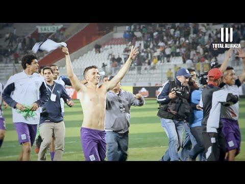 ¨[HD] Así celebraron los jugadores y los hinchas // Alianza Lima - universitario (1-0)  22/10/2014