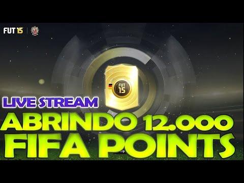 FIFA15 UT - ABRINDO 12.000 FIFAPOINTS - COM MUUH, AFINCOGAMES, DRAKO E FIFAMANIANEWS