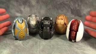 Godzilla Eggs - Godzilla, Mecha Godzilla, Gigan, Mothra, Gidorah