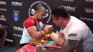 European Armwrestling Championship 2013 RIGHT-hand