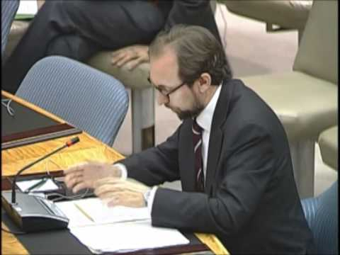 Zeid Ra'ad Al Hussein On Israeli Occupation