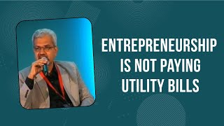 Entrepreneurship is not paying utility