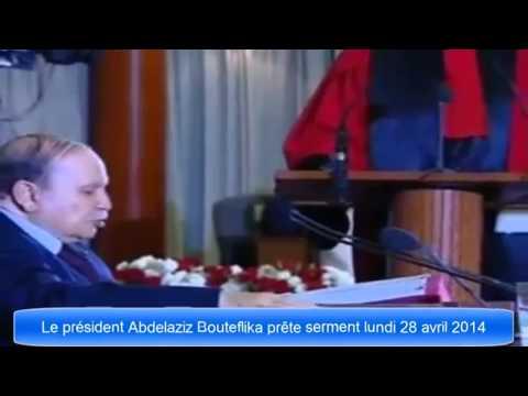 Abdelaziz bouteflika a prête serment une 4 eme mandat.