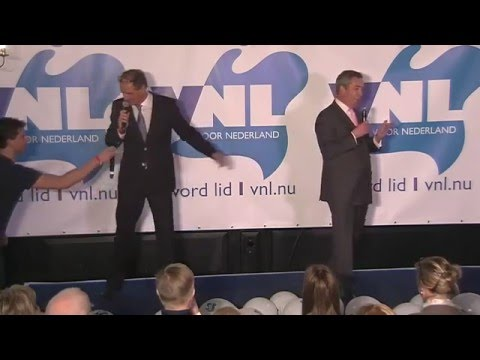 Speech Nigel Farage GeenPeil VNL Event