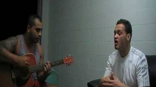 Sammy J and David Faafua on guitar(Wishing On Your Love)