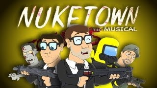 ♪ NUKETOWN THE MUSICAL FEAT. CHUCK TESTA - Black Ops 2 Zombies Parody