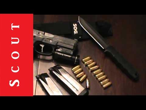 FN FNX-45 45 ACP Battle Pistol Review - Scout Tactical FNX 45
