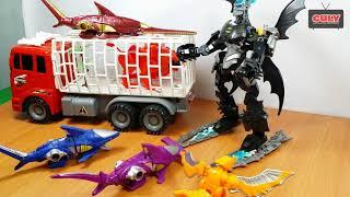 Giải cứu siêu nhân gao sư tử bị batman bắt cóc - Đồ chơi trẻ em