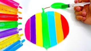Chị Google Dạy Bé Màu Sắc Tiếng Anh Bằng Tô Màu Đoán Hình Trò Chơi Trẻ Em #27