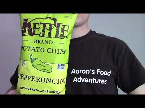 Kettle Brand Pepperoncini Kettle Chips   Spicochist Reviews