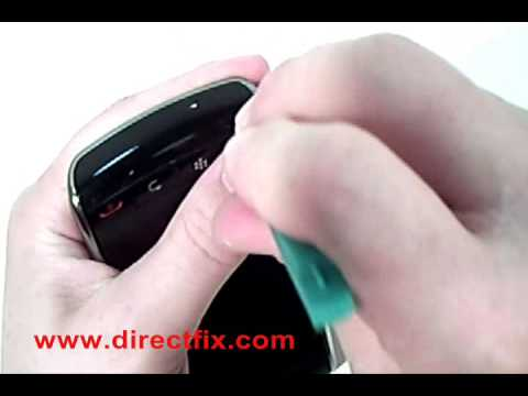 Video: Blackberry Storm 9500 Broken Screen Replacement &amp; Take Apart Directions by DirectFix.com