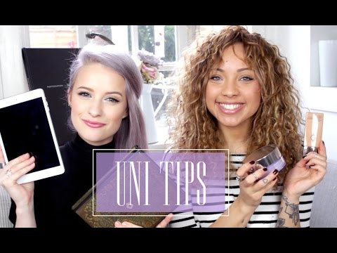 Uni/College Tips & Essentials! with Inthefrow | GIRL TALK