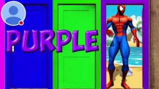 learn coulers with spider man dances