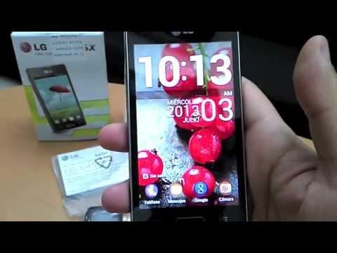 LG Optimus L5X (E450) - Telcel Guerrero Mobile -
