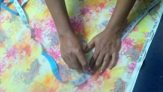 Gown cutting and stitching, Beautiful BABY Umbrella FROCK design making EASY