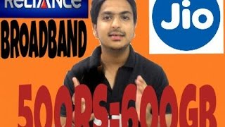 Reliance Jio Fiber broadband plans explain
