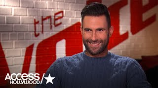 Adam Levine On Gwen Stefani & Blake Shelton