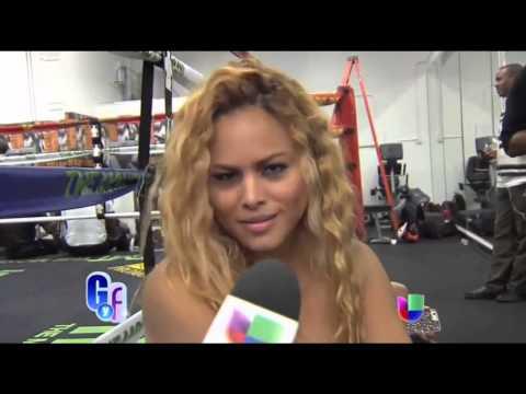 Liza Hernández habló sobre Floyd Mayweather antes de su pelea con Manny Paquiao