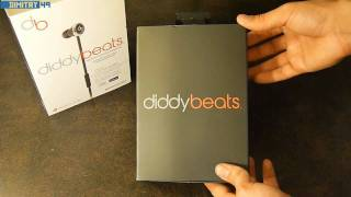 Monster Beats by dr. dre DIDDY BEATS Headphones First look + Mini Review