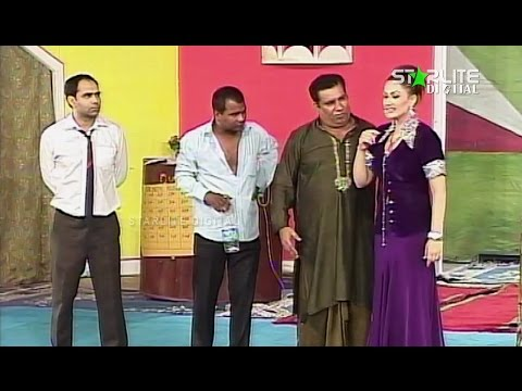 Tere Hussan Ka Jadu Nargis and Nasir Chinyoti New Pakistani Stage Drama Full Comedy Funny Play