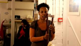 የግጥም ምሽት Ethiopian Poetry Night - Haymanot Tesfa (2)