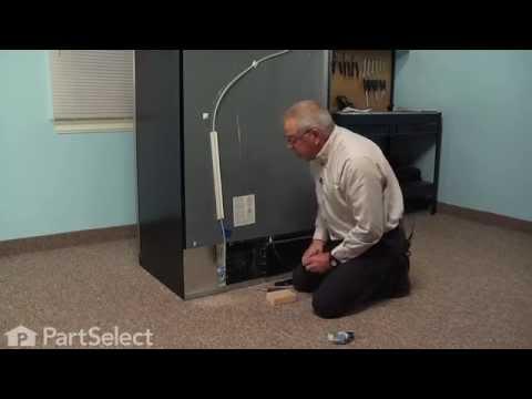 Refrigerator Repair - Replacing the Water Inlet Valve (Whirlpool Part # 67003753)