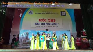 Full HD] Màn chào hỏi đội NVSP Trường Đại học Sư phạm Hà Nội 2 [Cụm Trung Bắc 2016]
